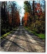 Abandoned Mile Drive Canvas Print