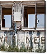 Abandoned On State Line Canvas Print