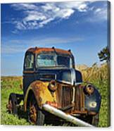 Abandoned Rusty Truck Canvas Print