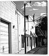 Abandoned Small Town Usa Canvas Print