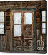 Abandoned Store Canvas Print
