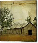 Abandoned Tobacco Barn Canvas Print