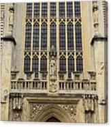 Abbey Door Canvas Print