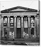 Aberdeen Music Hall Formerly The Citys Assembly Rooms Union Street Scotland Uk Canvas Print