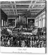 Abolition Convention, 1840 Canvas Print