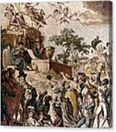 Abolition Of Slavery, 1794 Canvas Print