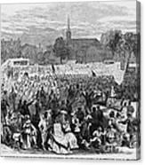 Abolition Of Slavery Canvas Print