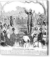 Abolition: Phillips, 1851 Canvas Print