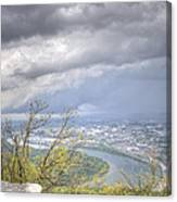 Above Chattanooga Canvas Print