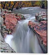 Above The Castor River Shut Ins II Canvas Print