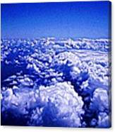 Above The Clouds Abstract Canvas Print