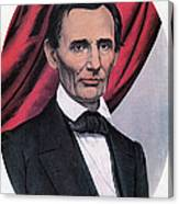 Abraham Lincoln, Republican Candidate Canvas Print