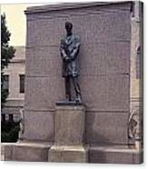 Abraham Lincoln Statue Canvas Print