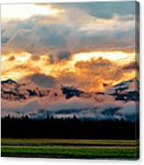 Absaroka Sunset Canvas Print