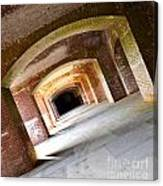 Abstract Archways Fort Point Canvas Print