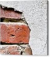 Abstract Brick Wall II Canvas Print