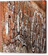 Abstract Coca Cola Sign Canvas Print