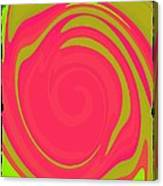 Abstract Color Merge Canvas Print
