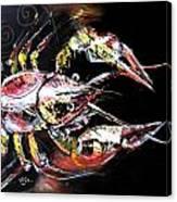 Abstract Crawfish Canvas Print
