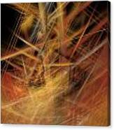 Abstract Crisscross Canvas Print