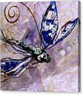 Abstract Dragonfly 9 Canvas Print