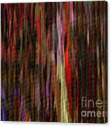 Abstract Faces In Crowd Canvas Print