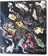 Abstract Fish212 Canvas Print