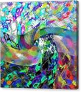 Abstract Fusion 15 Canvas Print