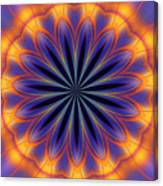 Abstract Kaleidoscope Canvas Print