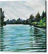 Abstract Landscape 5 Canvas Print