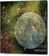 Abstract Moon Canvas Print