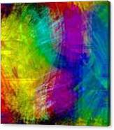 Abstract Multi Colors Canvas Print