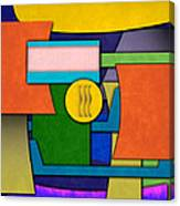 Abstract Shapes Color One Canvas Print
