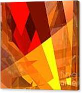 Abstract Sine L 17 Canvas Print