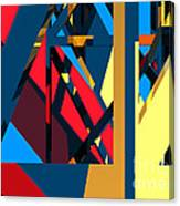 Abstract Sine L 19 Canvas Print