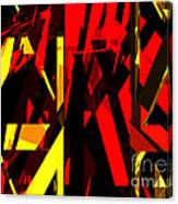 Abstract Sine L 20 Canvas Print