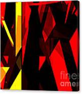 Abstract Sine L 21 Canvas Print