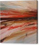 Abstract Sunset II Canvas Print