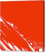 Abstract Swipe Canvas Print