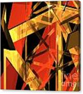 Abstract Tan 2 Canvas Print