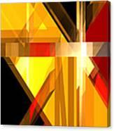 Abstract Tan 5 Canvas Print