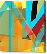 Abstract Tan 8 Canvas Print
