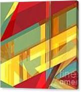 Abstract Tan 9 Canvas Print