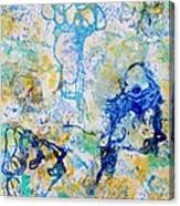 Abstract Under Water Canvas Print