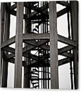 Abstract Water Tower Canvas Print