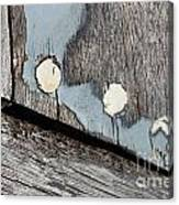 Abstract With Blue Canvas Print