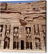 Abu Simbel Egypt 3 Canvas Print