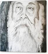 Abune Zena Markos-in Memory Of The Great Bishop Canvas Print