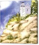 Acadia Lighthouse Canvas Print