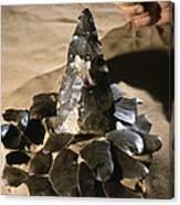 Acheulean Stone Tool Canvas Print